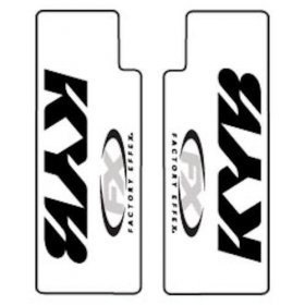 Factory Effex Clear Upper fork guards