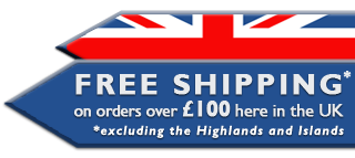 Free shipping on orders of £100 in the UK
