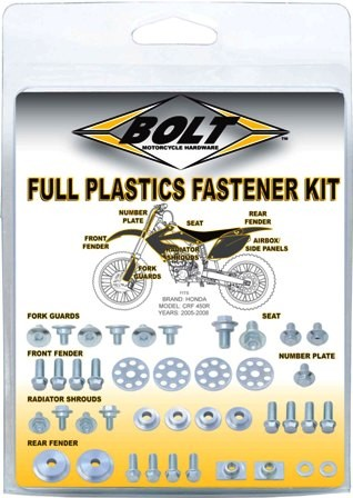 YZF plastic bolt kit